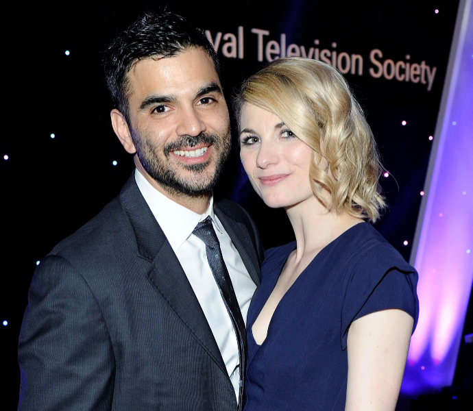 Jodie Whittaker with her husband, Christian Contreras