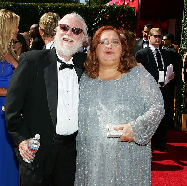 Conchata Ferrell and her husband, Arnie Anderson