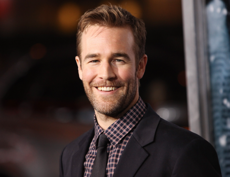 James Van Der Beek, a famous actor