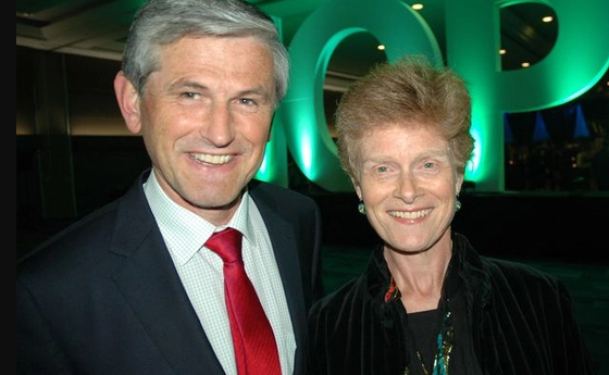 Andrew Wilkinson and his wife, Barbara Grantham