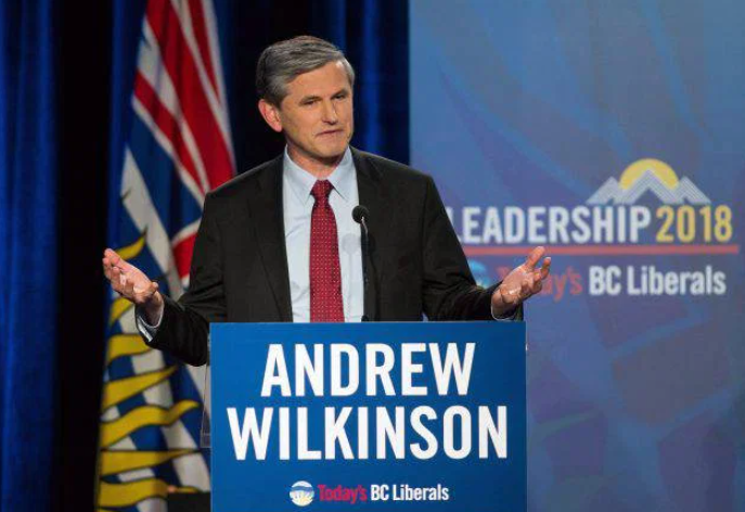 Andrew Wilkinson,a famous Canadian politician