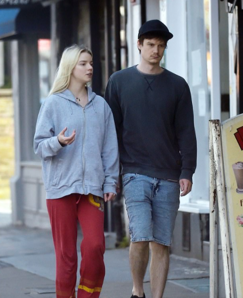 Anya Taylor-Joy and her boyfriend, Ben Seed seen together