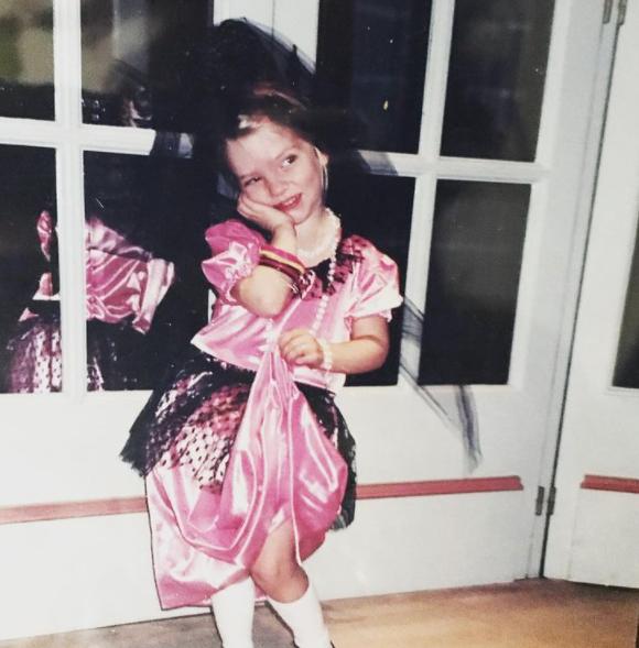 Anya Taylor-Joy as a child