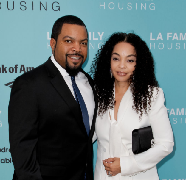 Ice Cube and his wife, Kimberly Woodruff