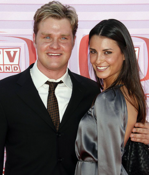 Bryan with his former wife Carly Matros