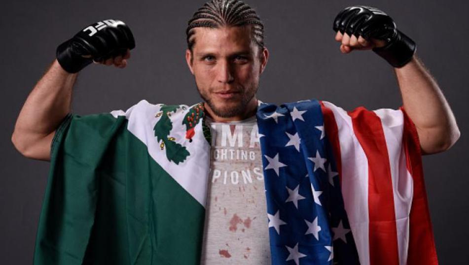 Brian Ortega, a famous MMA fighter