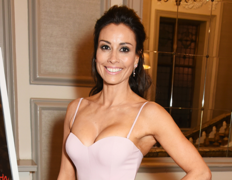 Melanie Sykes, a famous television and radio presenter, as well as a model