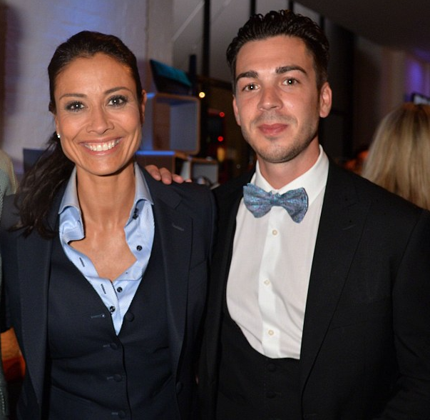 Melanie Sykes and her ex-husband Jack Cockings