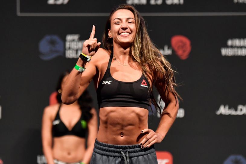 Amanda Ribas, a professional UFC Fighter
