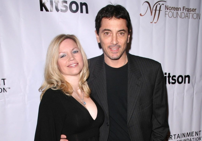 Scott Baio and his wife, Renee Sloan