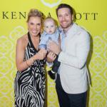 Kendra Scott and her husband, Matt Davis with their son