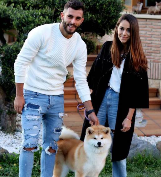 Luis Rioja and his girlfriend, Ratita