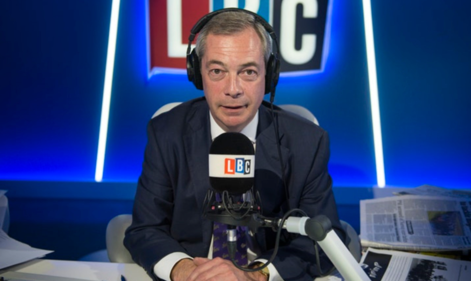 Nigel Farage as a broadcaster