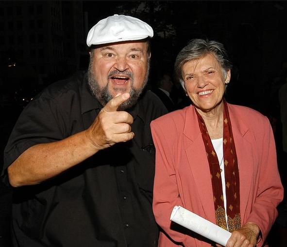Carol Arthur with her husband, Dom DeLuise