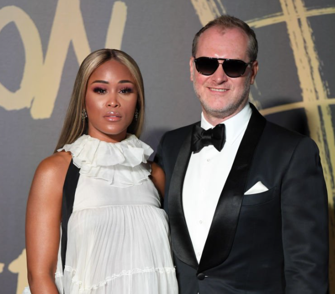 Eve and her husband, Maximillion Cooper