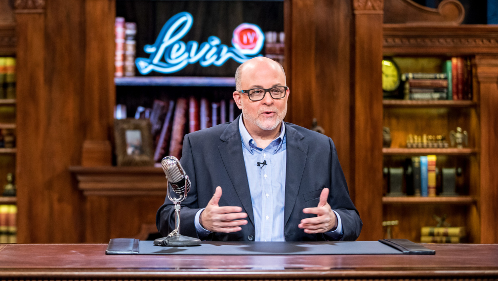 Mark Levin, a famous lawyer, radio host and author