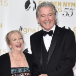 Patrick Duffy and his first wife, Carlyn