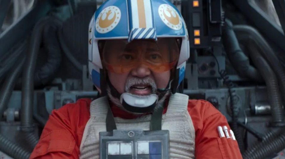 Paul Sun-Hyung Lee, in the Star Wars series 'The Mandalorian'