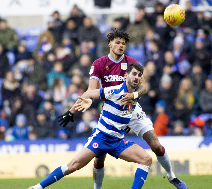 Tyrone Mings against the opponent