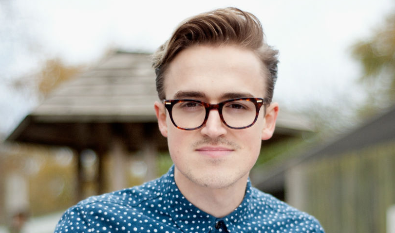 Tom Fletcher, a famous musician, singer, composer, author and YouTube vlogger.