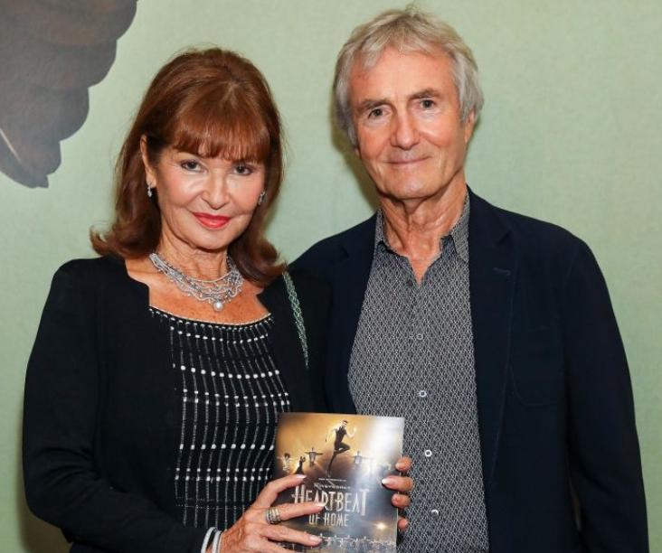 Stephanie Beacham and her partner, Bernie Greenwood