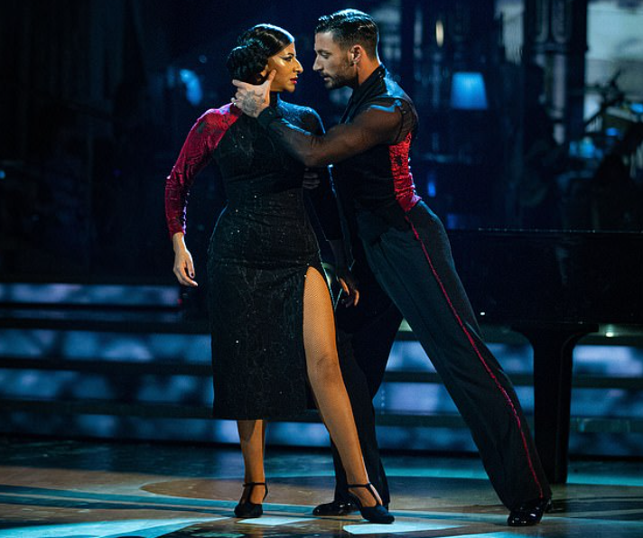 Ranvir Singh and his dance partner, Giovanni Pernice in Strictly Come Dancing