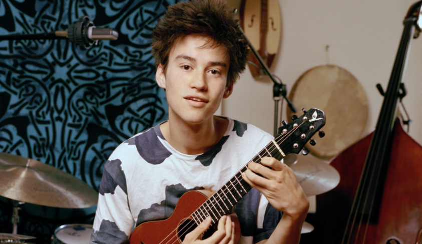 Jacob Collier, a famous singer