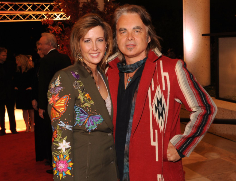 Hal Ketchum and his wife