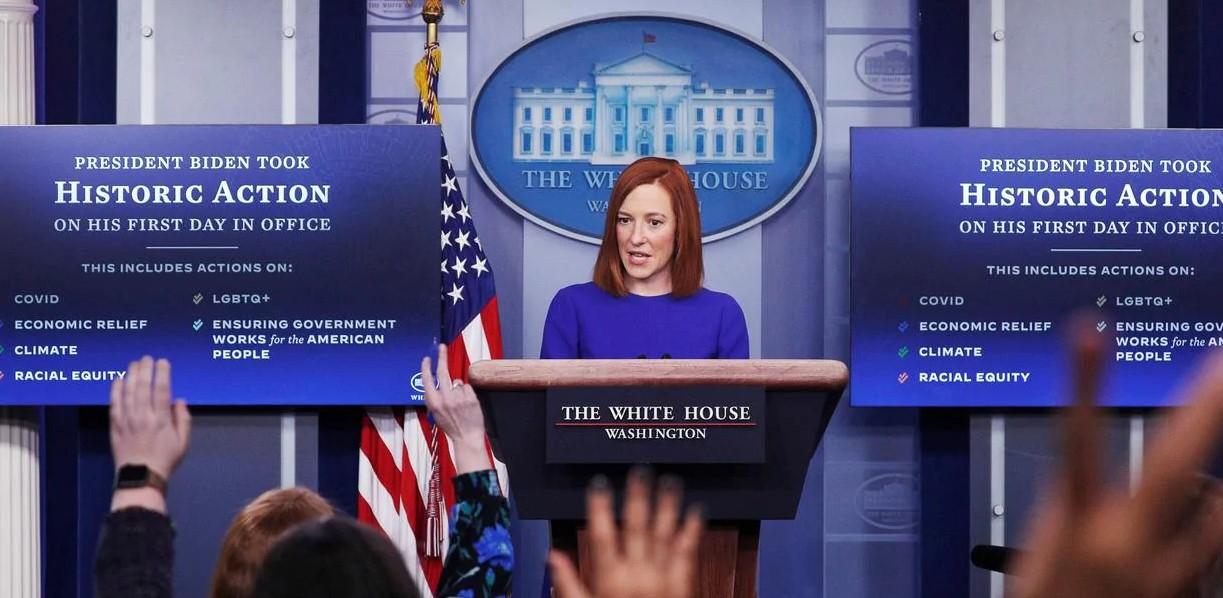 Jen Psaki Press Secretary