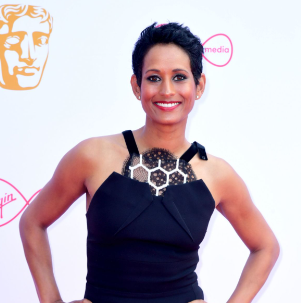 Naga Munchetty, a famous TV Presenter and Journalist