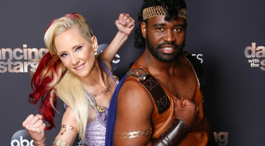 Keo Motsepe and Anne Heche in Season 29 of DWTS