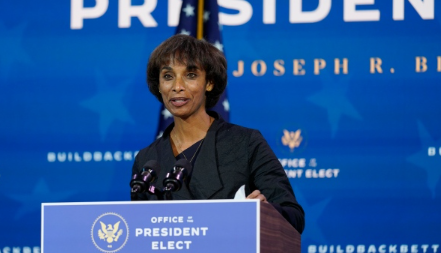Cecilia Rouse being nominated by Joe Biden to be chair of the Council of Economic Advisers
