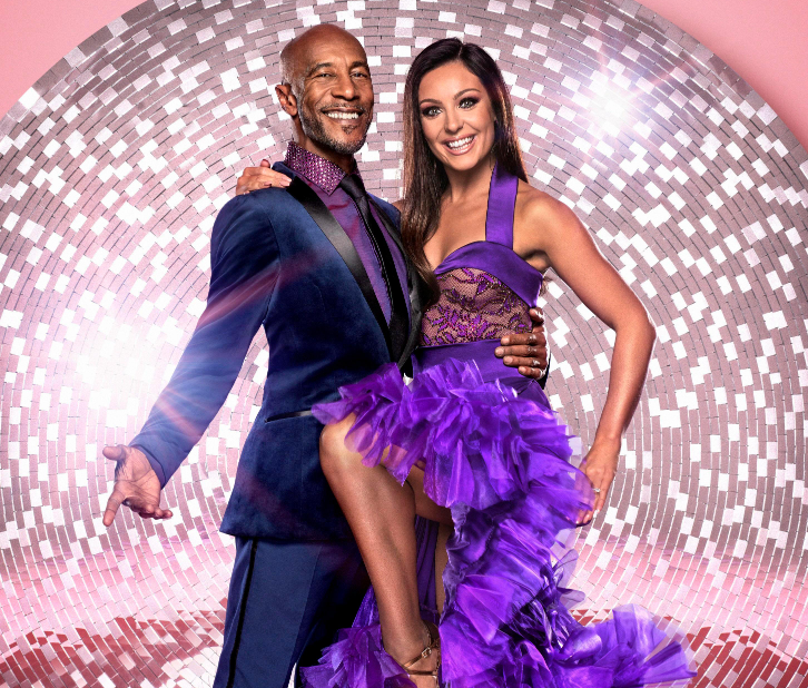 Amy Dowden and Danny John-Jules