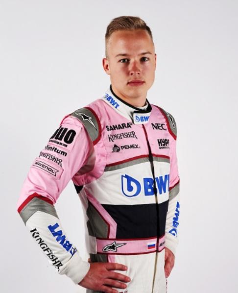 Nikita Mazepin, a famous car racing driver