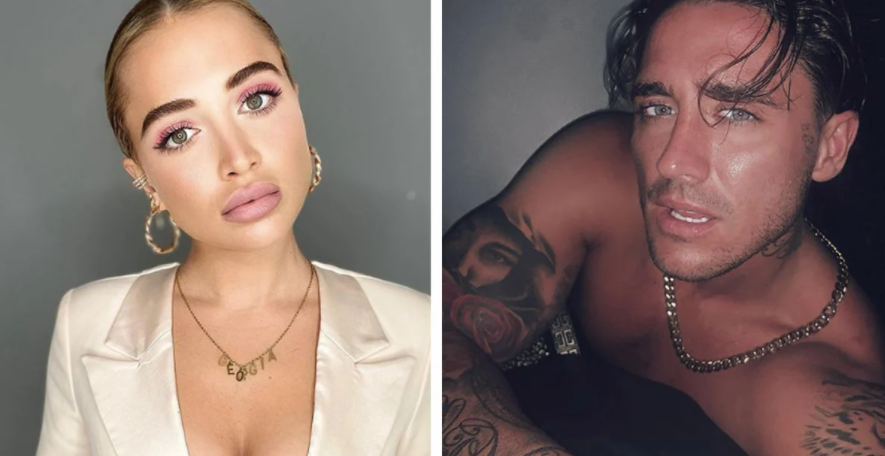 Stephen Bear and his ex-girlfriend, Georgia Harrison