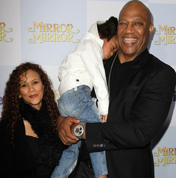 Felicia Forbes and Tommy Lister with their daughter