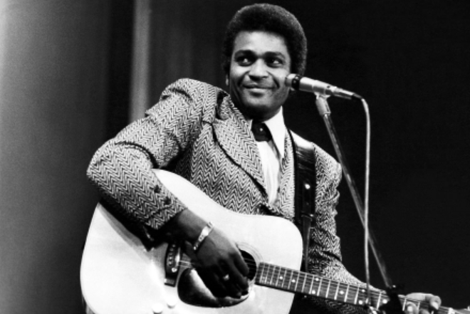 Charley Pride, a famous singer