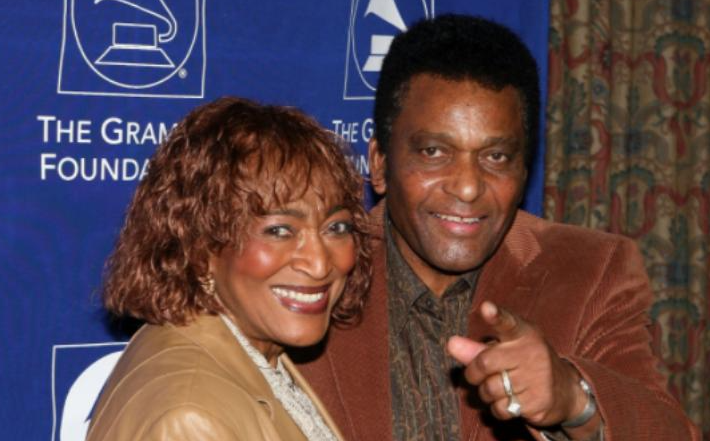 Charley Pride and his wife, Rozene
