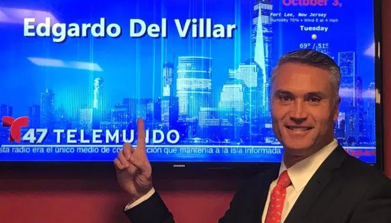 Edgardo Del Villar, Telemundo 47 anchor