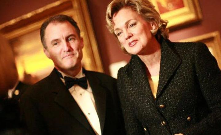 Jennifer Granholm and her husband, Daniel Mulhern