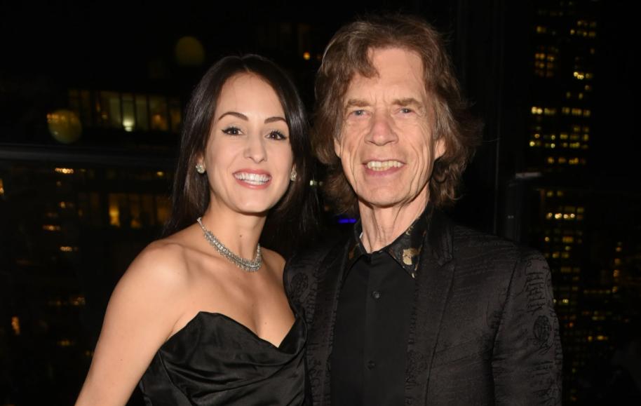 Melanie Hamrick and her partner, Mick Jagger