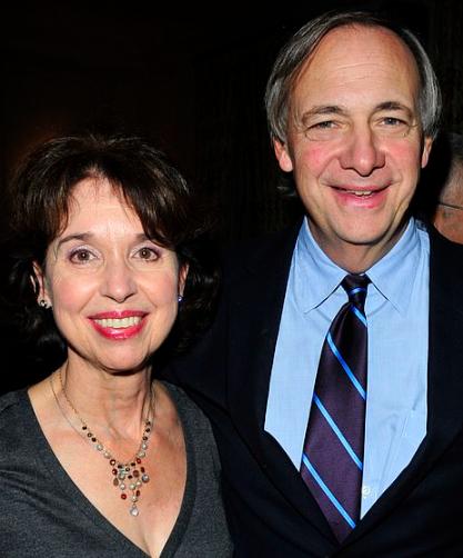 Ray Dalio and his wife, Barbara Dalio