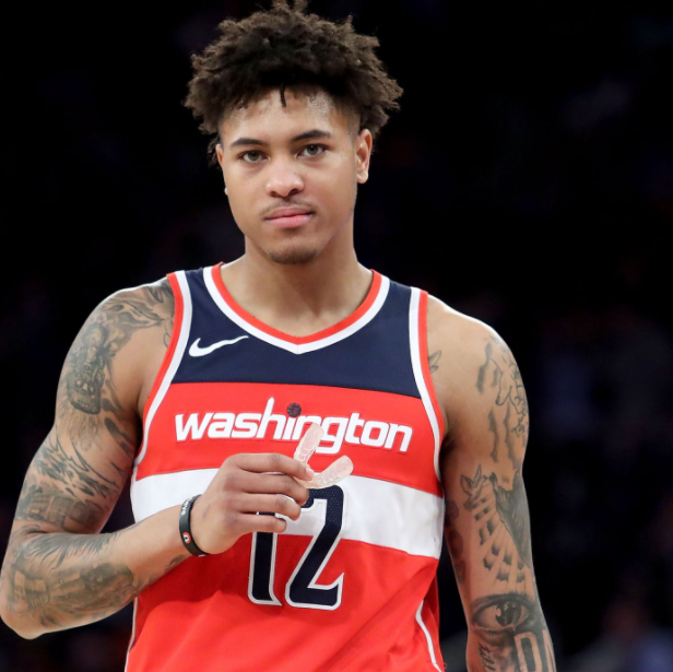 Kelly Oubre Jr., a famous basketball player
