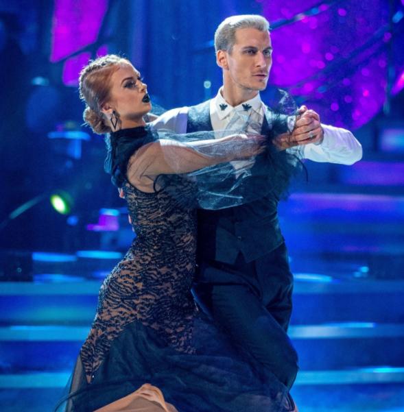 Maisie Smith and her dance partner, Gorkha Marquez