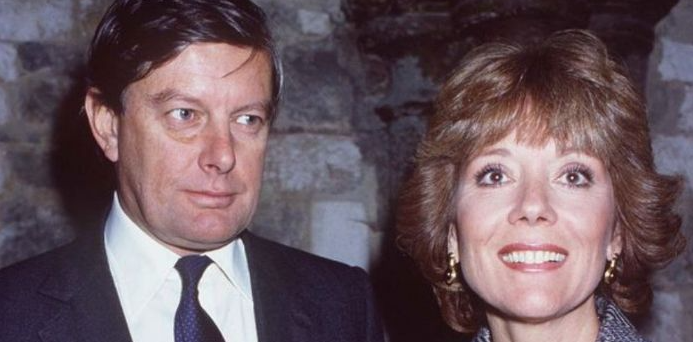Diana Rigg and her ex-husband, Archie Stirling