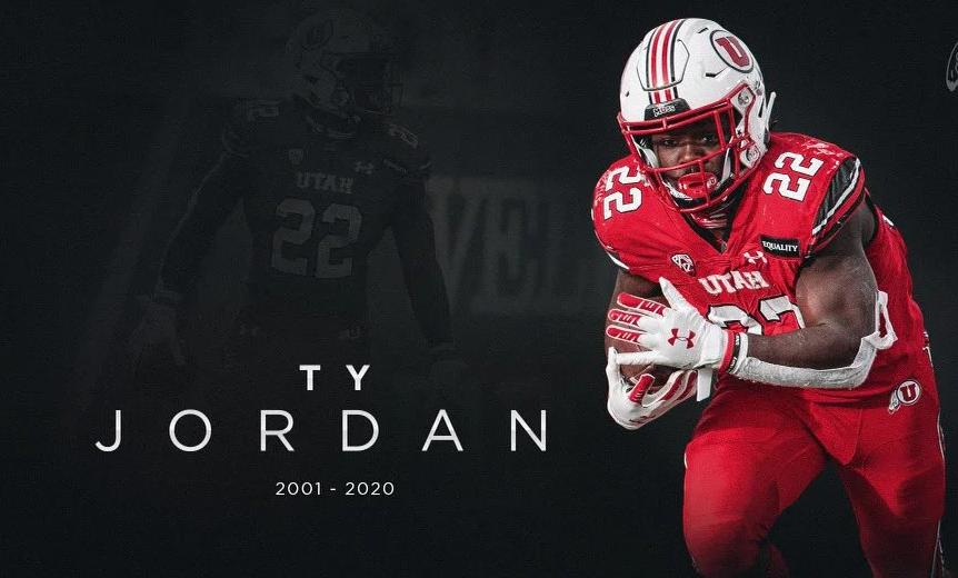 Utah football star running back, Ty Jordan dies in accidental shooting