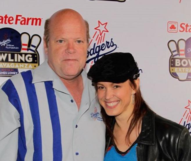 Renee DeRese and her ex-fiance, Rex Linn
