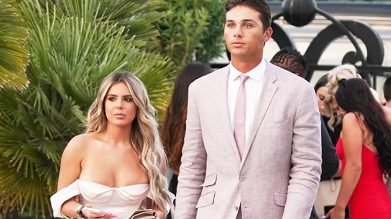 Justin Hooper and Brielle Biermann Seen Together in Jake Paul's Wedding