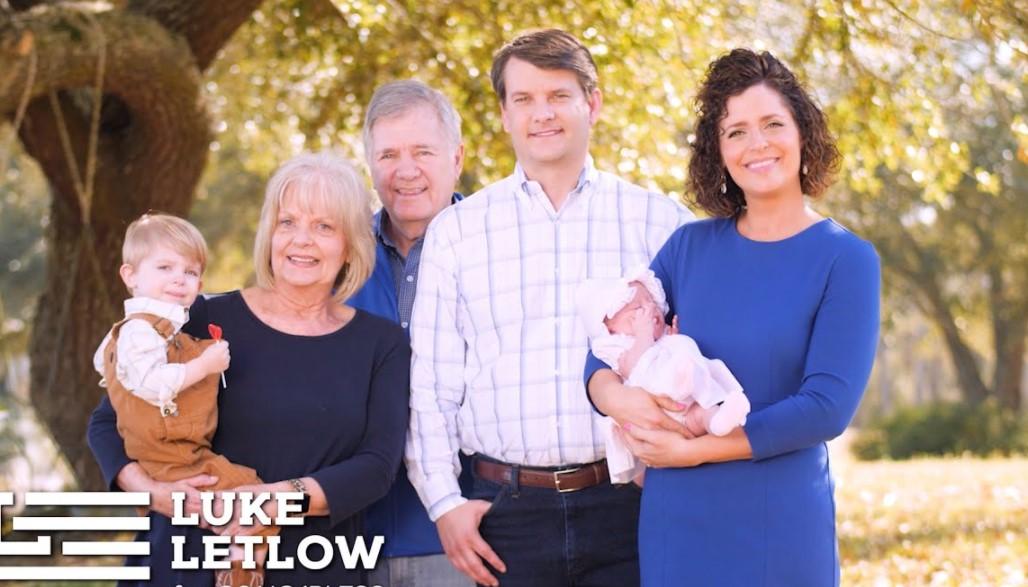Luke Letlow family