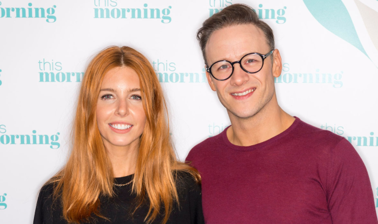 Stacey Dooley and her boyfriend, Kevin Clifton